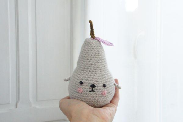 pera tournicote crochet a mano