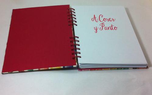 cuaderno de costura de cartonaje_caligrafia