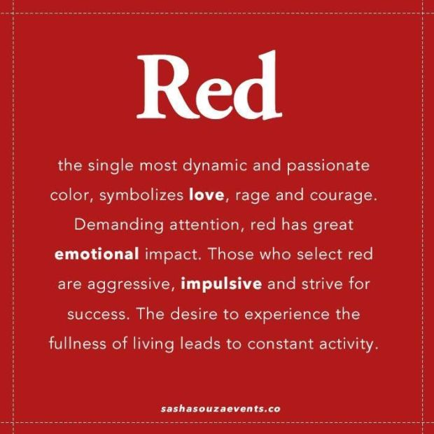 definition of red