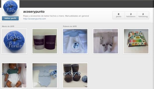 perfil instagram a coser y punto