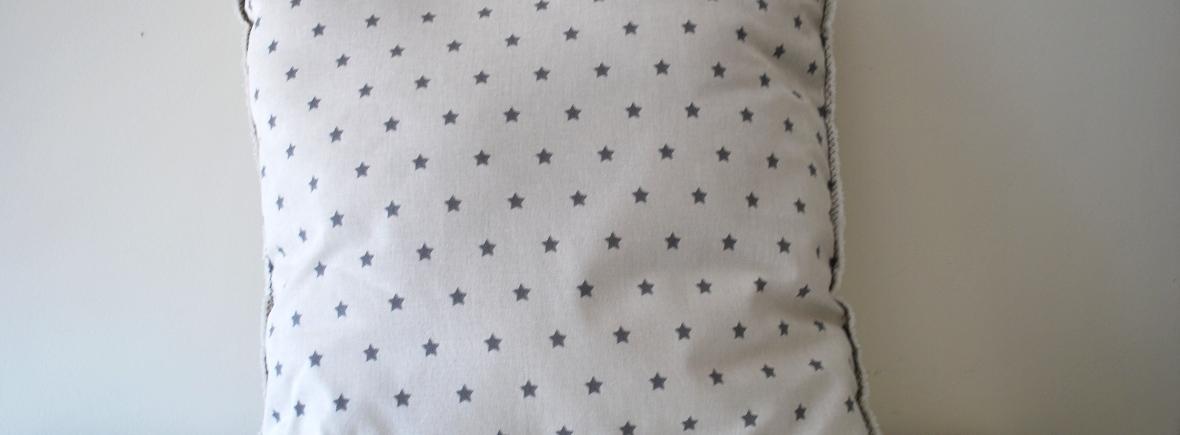 Almohadon cojin de estrellas hecho a mano optimizado 1180