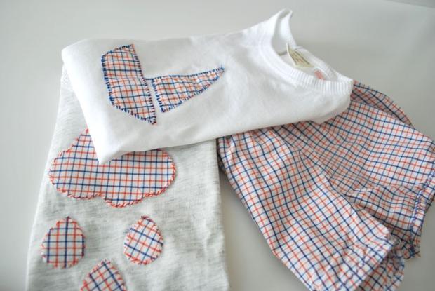 conjunto_traje_baño_camisetas_cuadritos