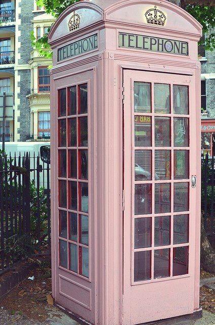cabina inglesa rosa  dia internacional cancer mama