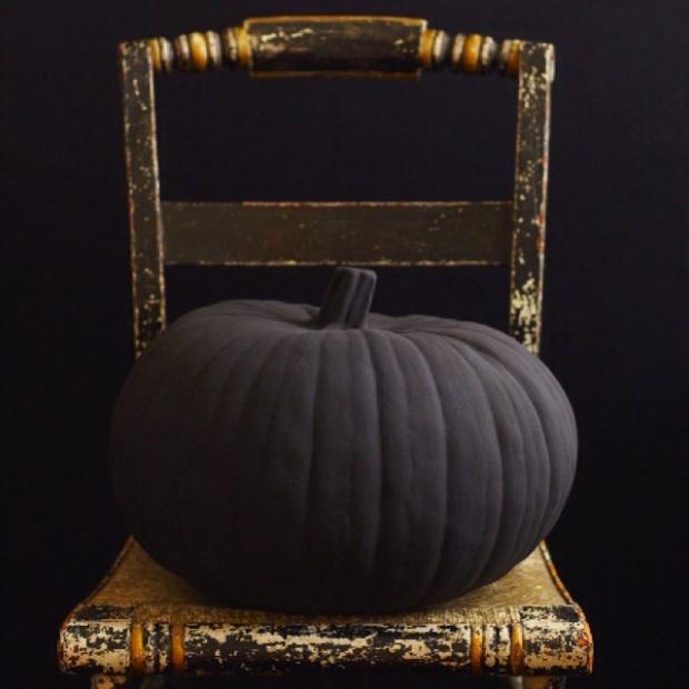 calabaza pintada halloween