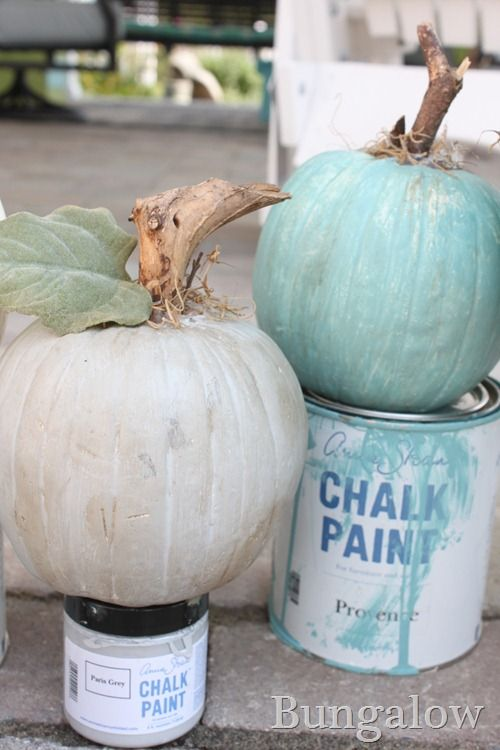 calabazas chalkpaint