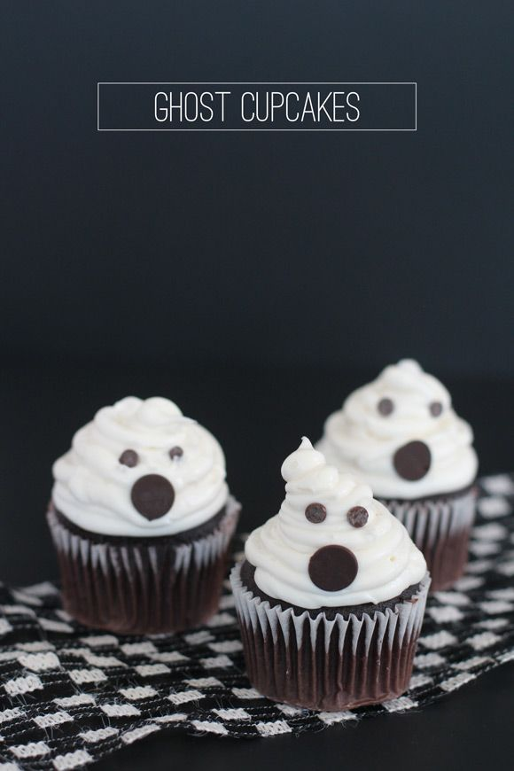 muffins fantasmas halloween