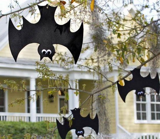 murcielagos crafts halloween