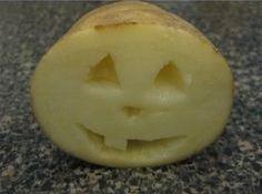 patata calabaza crafts halloween
