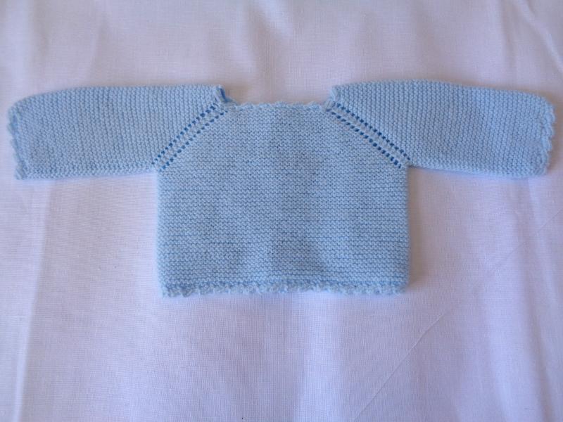 Jersey de primera puesta con manga ranglan azul bebé – A CoSer y Punto