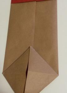 empaquetado bolsa papel hecho a mano