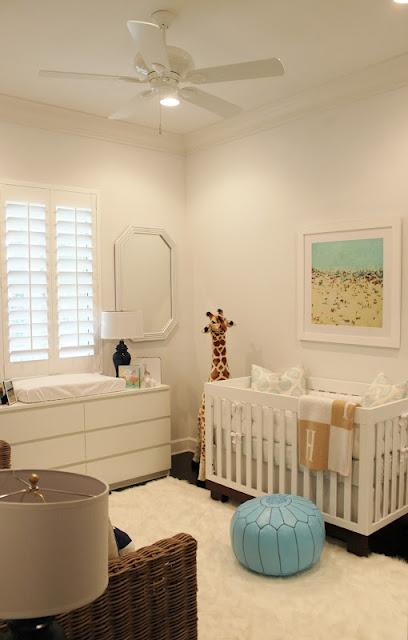 Cambiador de ikea MALM decoración cuarto bebe
